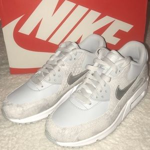 Nike Air Max 90 premium sneakers pure Platinum
